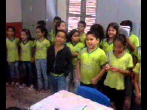 Baixar Musica P.Á.S.C.O.A de Cristina Mel cantada pelos alunos do 3° ano do ensino fundamental.