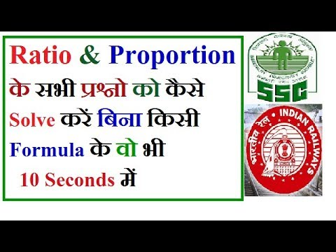 Must Watch Mathematics Ratio and Proportion