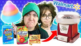 Cash or Trash? Testing WEIRD Cotton Candy Maker Walmart & Vat19