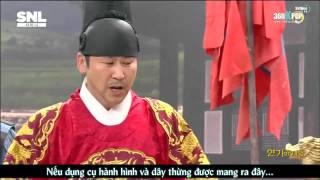[VIETSUB] SHINee SNL Korea - Trùm diễn xuất 1/2 {SHINee Team}