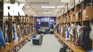 We Toured the Duke Blue Devils' AMAZING Lacrosse Facility | Royal Key