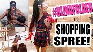 BLINDFOLDED SHOPPING SPREE!