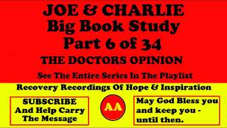 AA Speakers Joe McQ. and Charlie P. - Their Famous Alcoholics Anonymous Big Book Study #6 of 34