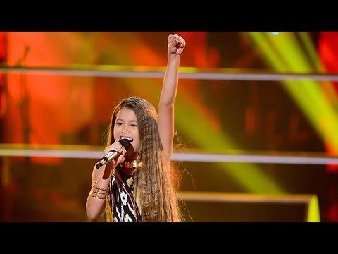 Alexa sings Girl On Fire   The Voice Kids Australia 2014