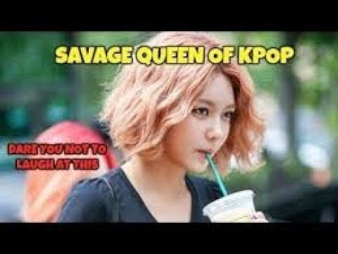 [Sooyoung Funny Montage] Savage Queen = Choi Sooyoung