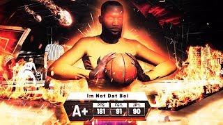 I SCORED 181 POINTS for DOUBLE REP in JORDAN REC CENTER in NBA2K19