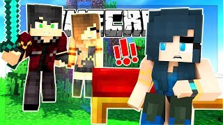 ALL ALONE! THEY ARE TRYING TO KILL ME! (Minecraft BED WARS)
