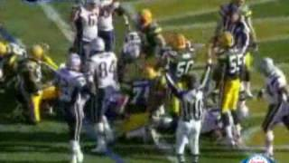 2006 Patriots @ Packers Week 11 HIGHLIGHTS