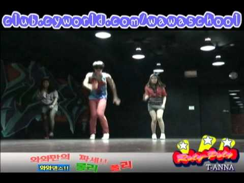 WAWA DANCE ACADEMY TIARA ROLY POLY DANCE STEP MIRRORED MODE
