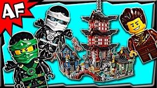 Lego Ninjago TEMPLE of AIRJITZU 70751 Stop Motion Build Review