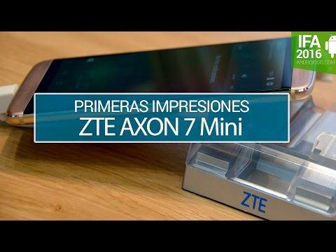 ZTE AXON 7 Mini, primeras impresiones