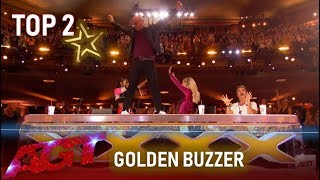 TOP 2 GOLDEN BUZZER of America's Got Talent 2019 | Inspiring & Emotional!