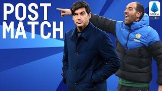 Inter 3-1 Roma | Stellini & Fonseca Post Match Press Conference | Serie A TIM