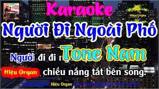 Karaoke 7979 Người Đi Ngoài Phố Nhạc Sống Tone Nam || Hiệu Organ Guitar 7979