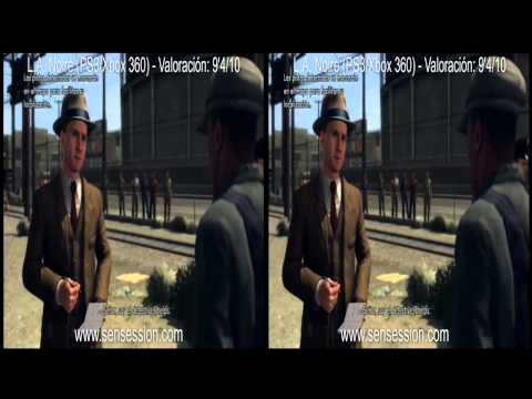 L.A. Noire 3D analisis review Gameplay