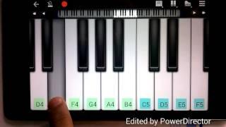 Gulabi Aankhen Song on Piano