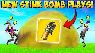 *NEW* STINK BOMB BEST PLAYS! - Fortnite Funny Fails and WTF Moments! #231 (Daily Moments)