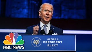 Biden Introduces Key Members Of His Administration | NBC News