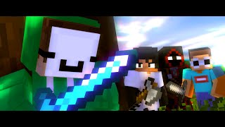 "Dream Animation ♪ ""Modded Griefers"" - A Minecraft Animated Music Video"