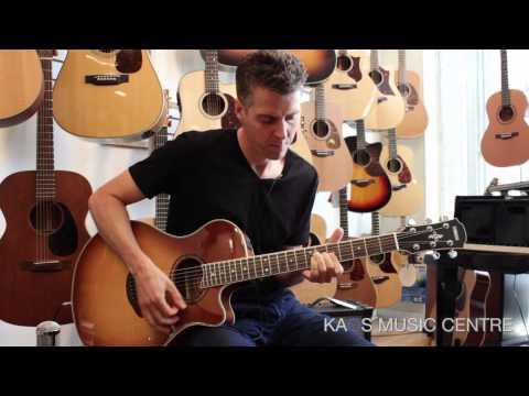 Yamaha APX700II-VS Electro Acoustic Guitar (Sandburst)