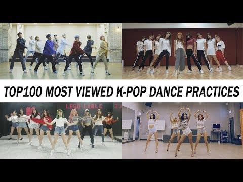 [TOP 100] MOST VIEWED K-POP DANCE PRACTICES • August 2018