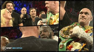 """""""What a fighter you are!"""" This is what Wilder & Fury said to each other in the ring after the fight"""
