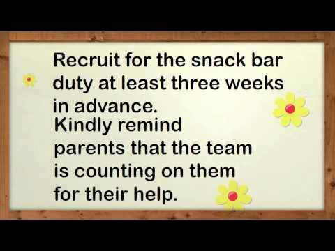 Team Mom Tips