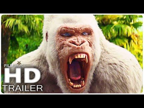 RAMPAGE Trailer 2 Español (2018)