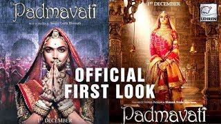 Official First Look poster of Deepika Padukone in Padmavat..