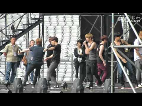 [FANCAM] 120914 EXO-M Rehearsal- History