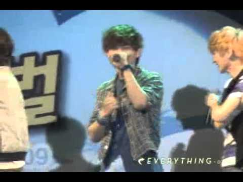 [Fancam] Onew - Replay Mistake