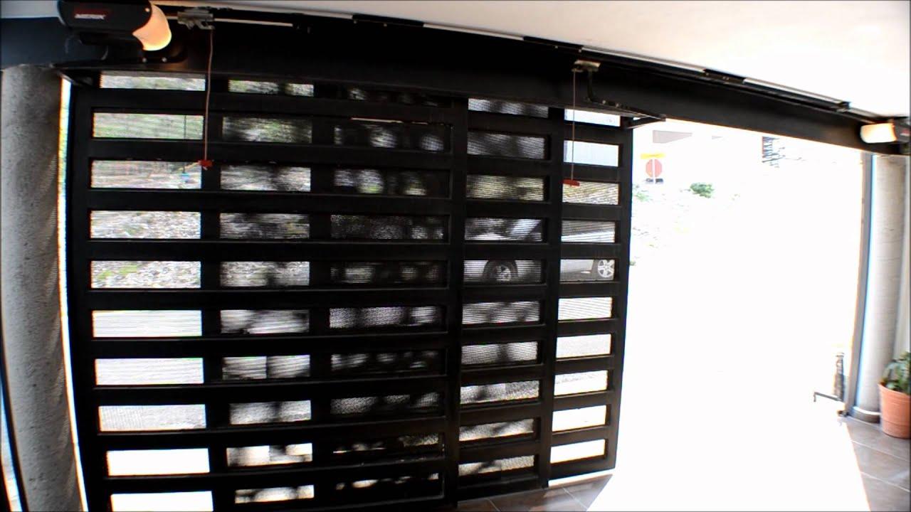 Puertas automaticas porton corredizo con operador merik - Puertas automaticas para cocheras ...