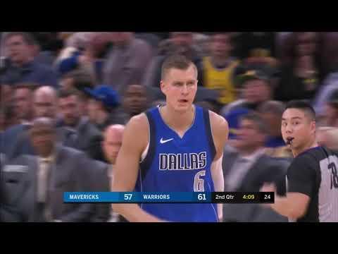 Kristaps Porzingis (18 Points, 4 Blocks) Highlights vs. Golden State Warriors