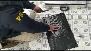 PRF prende traficante transportando cocaína com alto grau de pureza na BR-293, em Bagé