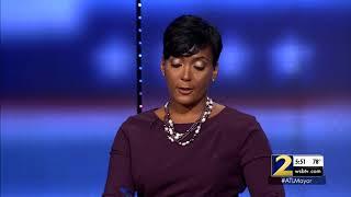 Atlanta Mayoral Race: Vincent Fort and Kiesha Lance Bottoms spar