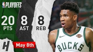 Giannis Antetokounmpo Full Game 5 Highlights vs Celtics 2019 NBA Playoffs - 20 Pts, 8 Ast, 8 Reb!