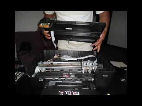 Mantenimiento A Una Impresora Hp Photosmar D110 Youtube