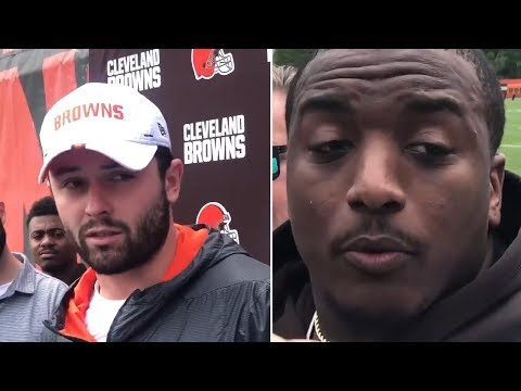Duke Johnson EXPLAINS Browns Trade Request, Takes Field With Baker Mayfield At Training Camp
