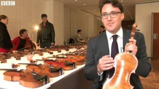 Stolen Stradivarius violin to be sold out to $10000