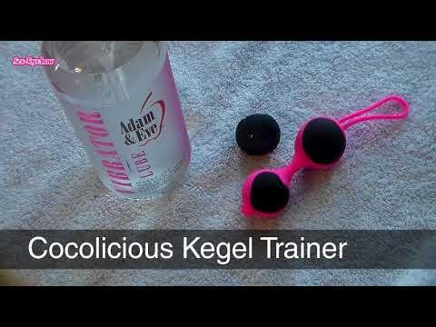 Kegel Training: How to Use Cocolicious Kegel Trainer Ben Wa Balls?