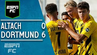 Erling Haaland & Giovanni Reyna shine in Borussia Dortmund's 6-0 win vs. Altach | ESPN FC Highlights