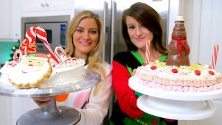 Christmas Cake Decorating Challenge!