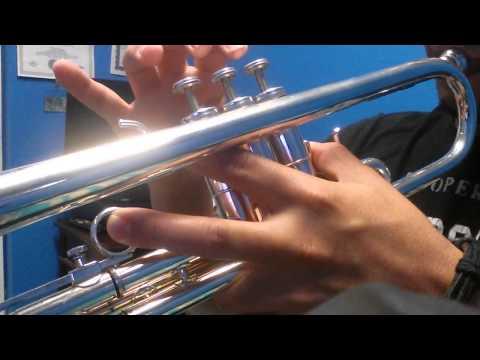 Tutorial de trompeta   el Señor es mi Rey