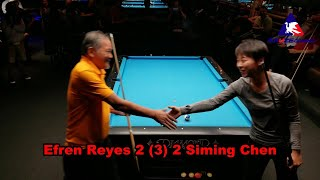 Efren Reyes vs #1 Female World Champion Siming Chen Exhibition