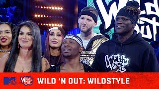 WWE's Carmella & R-Truth Ready to Kick Nick Cannon's A** 😂 Wild 'N Out | #Wildstyle