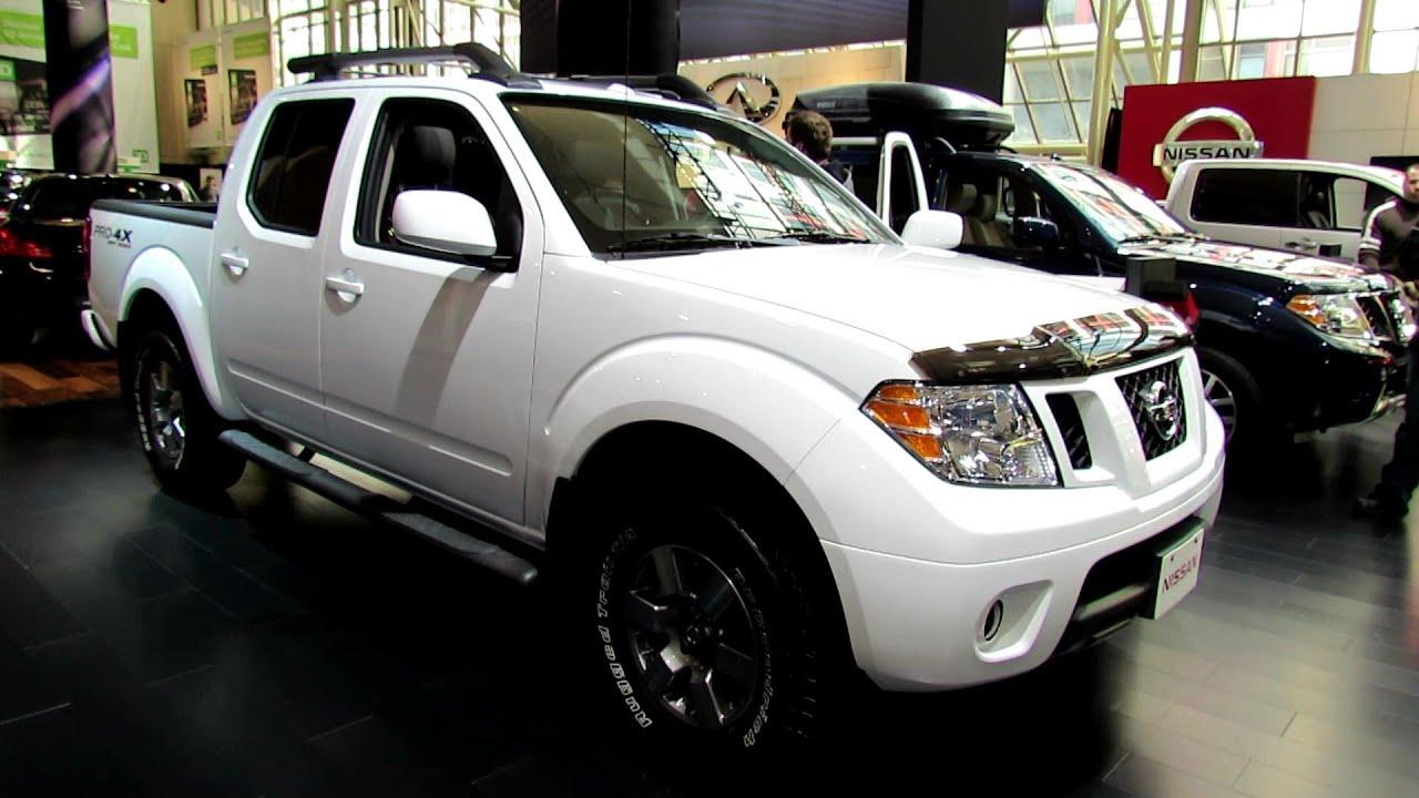 Nissan Frontier Pro 4X >> 2012 Nissan Frontier Pro-4X Off Road Exterior and Interior ...