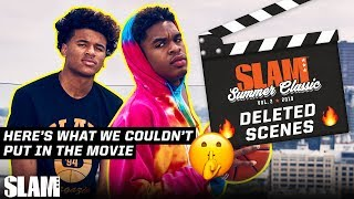 Top High School Hoopers DELETED SCENES: What We COULDN'T Put in the Movie 🤫 | SLAM Summer Classic
