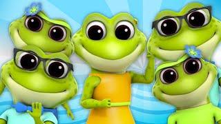 ranas dedo familia   rimas infantiles   canciones de bebe   Frogs Finger Family   Finger Family Song