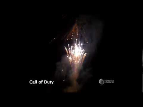 Fantastic Fireworks Call of Duty - 100 Shot Finale Firework