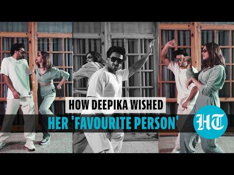 Watch how Deepika Padukone wished hubby Ranveer Singh on his 36th birthday